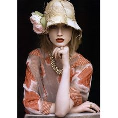 Vogue Australia Editorial Floral Tribute, March 2009 Shot #4 ❤ liked on Polyvore