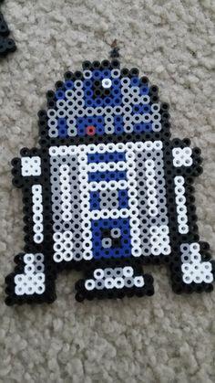 Star Wars Perler Beads R2D2