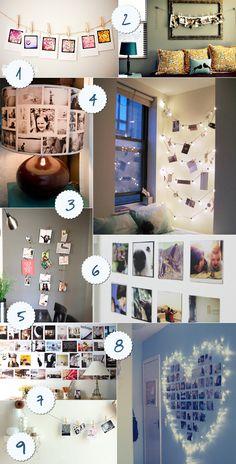 Ideias de decoração com fotos!