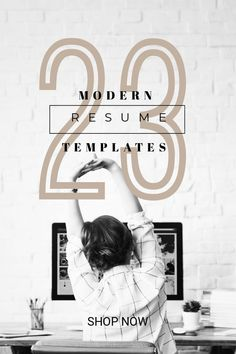 Beat the competition with modern professional resume design, Resume Templates compatible with Mac & PC, Microsoft Word - Instant Download - Completely Customizable Microsoft Word Resume Template, Modern Resume Template, Creative Resume Templates, Cv Template, Resume Tips, Resume Examples, Design Resume, Resume Words, Mac Pc