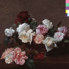 New Order: Power, Corruption & Lies,design Peter Saville , cover Painting Roses - Henri Fantin-Latour January 1836 – 25 August was a French painter and lithographer best known for his flower paintings and group portraits of Parisian artists and writers. New Order Album Covers, Cool Album Covers, Album Cover Design, Music Album Covers, Peter Saville, Henri Fantin Latour, Cover Art, Cd Cover, Karl Valentin