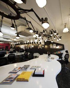 PRODUCTION TABLES - WHITE  Rebirth of Saatchi & Saatchi Thailand / Supermachine Studio