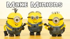 Love Minions? Make your own Minions from the movie Despicable Me out of a Kinder Surprise Easter egg. Customize it in whatever way you like, make Dave! From ...