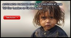 Save the Children - Stop Sequestration