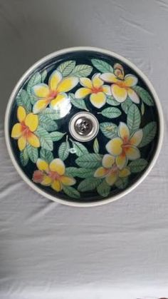 Image Of Beautiful hand painted porcelain wash basins ideal for your bathroom en suite kitchen utility room u shower room Our basins are professionally u