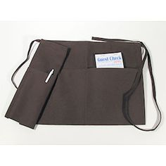 Brown Choice 605WAFH-BR Front of the House Waist Apron