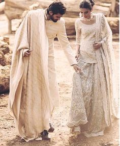 Gorgeous campaign by Zaheer Abbas 😍. Love the white! Ft Hasnain Lehri & Noor … Gorgeous campaign by Zaheer Abbas 😍. Love the white! Pakistani Wedding Outfits, Pakistani Wedding Dresses, Bridal Outfits, Indian Outfits, Indian Wedding Couple, Indian Bridal, Pakistani Couture, Indian Couture, Nikkah Dress