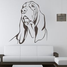 Basset Hound Dogs Animals Wall Art Decal Wall Stickers - Basset Hound - Dogs - Animals