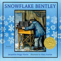 Caldecott Award-winning woodcut artist, Mary Azarian and photographer, Snowflake Bentley