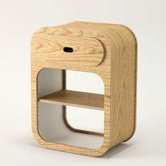 7)Untothislast  Bedside Cabinet with Drawer oak£145