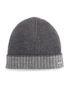 Boss Hugo Boss Frisk Knit Bicolor Hat Hat Men a8e9e678a078
