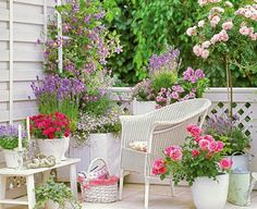 Mom's Turf: Pretty Balcony with Flowers