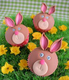 konijnen cupcakes met handige how to