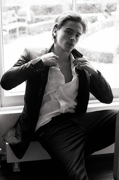 And just thank the gene gods for him. | Say Hello To Emma Watson's Brother, Alex