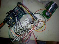 Probando el funcionamiento de la botonera