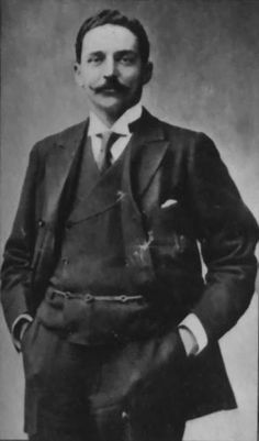 The cowardly Bruce Ismay of White Star Line, who leapt into a life boat during the boarding of women and children.