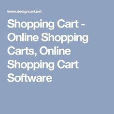 Shopping Cart - Online Shopping Carts, Online Shopping Cart Software