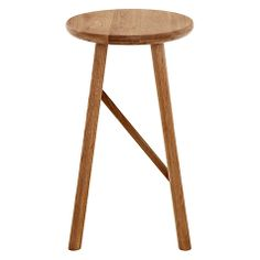 Buy Oak Says Who for John Lewis Why Wood Bar Stool from our Bar Chairs & Stools range at John Lewis & Partners. Wood Bar Stools, Kitchen Stools, Bar Chairs, Creativity And Innovation, Danish Design, Kitchen Inspiration, Scandinavian Style, John Lewis, Craftsman