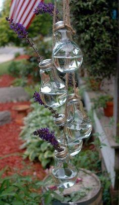 Изящные вазы для цветов из лампочек  SKRMASTER.BY — Handmade ярмарка Беларусь