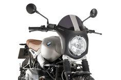 Retro fairing for BMW R Nine-T Scrambler!! Soon available! By #puig