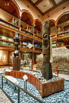 Hawaiian Hall, Bishop Museum, Hawaiʻi State Museum of Natural and Cultural History, Honolulu, Hawaii