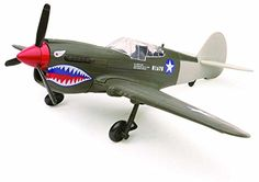 Airplane Model Kits - New Ray Curtiss P40 Warhawk Plane Model Kit 148 Scale Assembly Required ** To view further for this item, visit the image link.