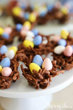 Chocolate Bird's Nest Clusters | Maker Crate