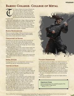 Dungeons And Dragons Races, Dungeons And Dragons Characters, Dungeons And Dragons Homebrew, Dnd Characters, Dnd Bard, D D Races, Bard College, Dnd Classes, Dnd Funny