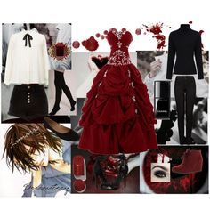 Vampire Knight - Kaname by animedowntherunway on Polyvore