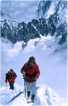 Mont Blanc, Alpes franceses.