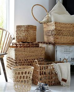 #straw #wicker #hamper #decorative #interior #interiordesign #aw1617 #hasır #sepet #dekoratif #dekorasyon #trend