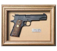 Quadro  Réplica de Arma Colt MK