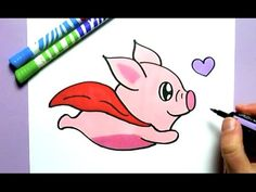 KAWAII DELFIN SELBER MALEN :) - YouTube