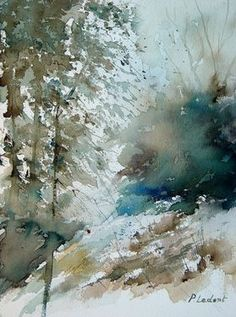 "Saatchi Online Artist Pol Ledent; Painting, ""watercolor 301005"" #art"