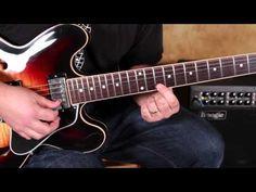 How to Play Fast Blues Licks on guitar a la Stevie Ray Vaughan and Joe Bonamassa