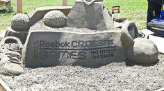Sand Sculpture Sand Sculptures, Reebok Crossfit, Fitness