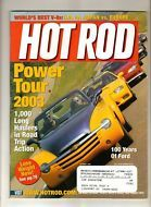 Hot Rod Magazine Oct 2003 ZL1 Supercar Hemi Viper '67 Chevelle 100 Years of Ford