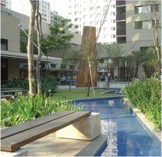 Corporate Square KINOPLEX (SP) - landscape architecture: Benedito Abbud; photo: Silvio Macedo 2004