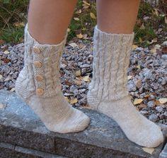 Button socks