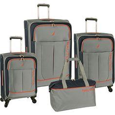 Nautica Fairwind Four Piece Luggage Set  http://www.alltravelbag.com/nautica-fairwind-four-piece-luggage-set-2/