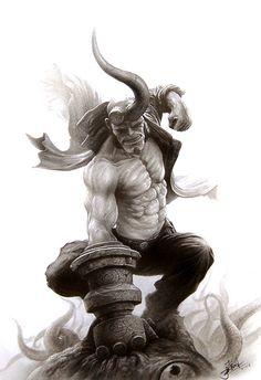 Hellboy Created by Yin Yuming