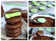 Chocolate Covered Mint Patties!