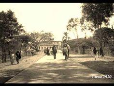 Paseo Bolívar. Al fondo se construyó después el Hotel Alférez