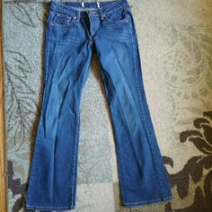 Levi Jeans Great durable jeans, dark blue.  In good condition, no stains, rips or tears. Levi's Jeans