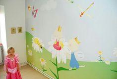 Tapet Wallpaper Fondvägg Barnrum Kids room