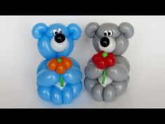 How to make this small lovely bear :) Which can olso be a bracelet on a hand. Need one colored 260 balloon  for body, and one white for muzzle and belly, and optionally for bracelet. And scrap of black for nose. Good luck :)