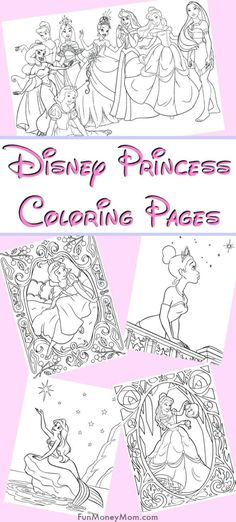 Disney Princess Coloring Page For Rainy Day Fun Disney Princess Coloring Page - Want to keep the kids entertained on a rainy day? Just print out these Disney princess coloring pages and let them color away. It's the perfect rainy day fun!