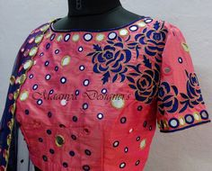 Mirror work blouse