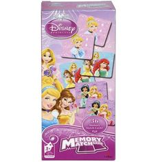 Classic memory match game made even more entertaining with everyone's favorite Disney Princess characters Flip cards over, two at a time, to make a match. Make the most matching pairs, and you win the game! No reading required to play Cool Toys For Boys, Best Kids Toys, Princess Games For Girls, Disney Princess Characters, Tween Girl Gifts, Childhood Games, Flip Cards, Developmental Toys, Disney Toys