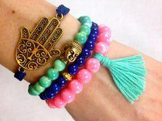 Aurora Boho Bracelet Stack